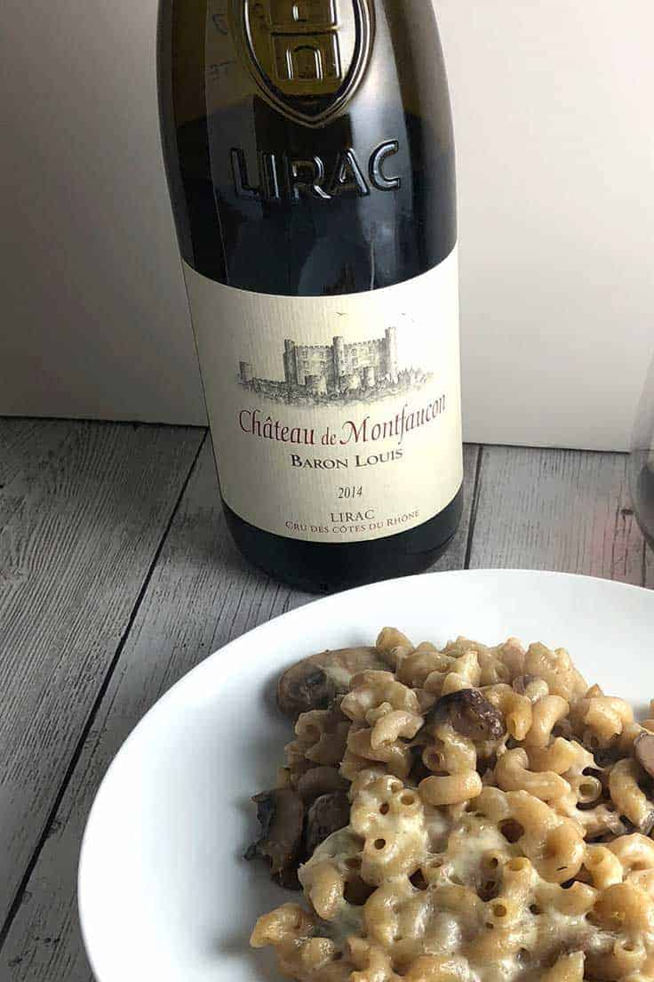 Chateau Montfaucon Lirac Rouge is a very good red wine from the southern Rhone River Valley. #wine #RhoneRiver #sponsored