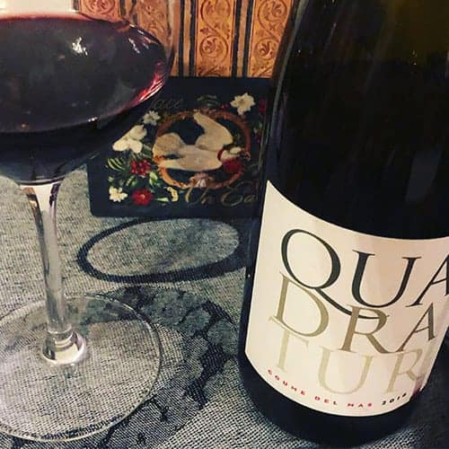 Quadratur red wine blend from Southern France.