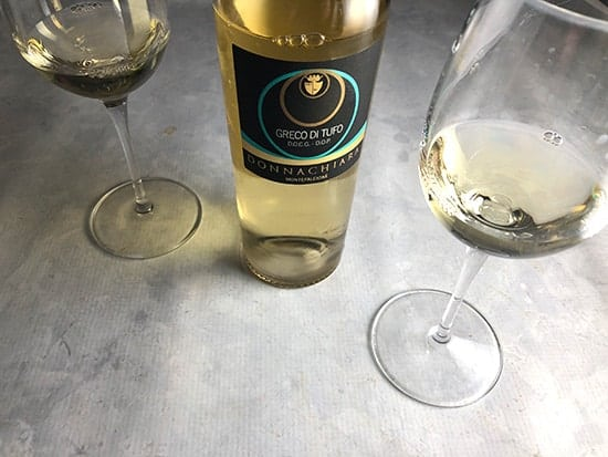 donnachiara greco di tufo white wine