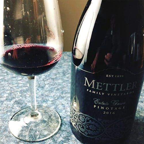 Mettler Family Vineyards Pinotage