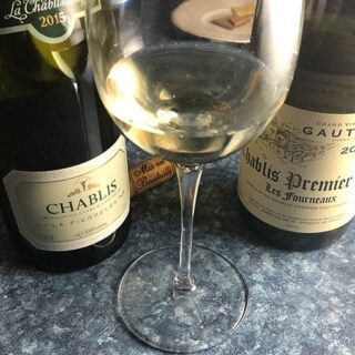 Sipping Chablis with Easter Dinner or Your Next Seafood Meal #Winophiles