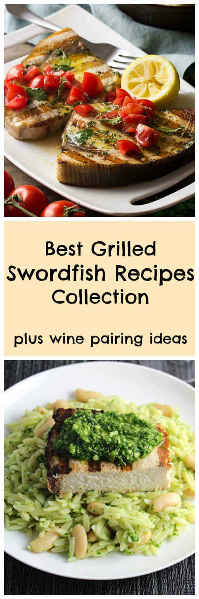 collection of grilled swordfish recipes
