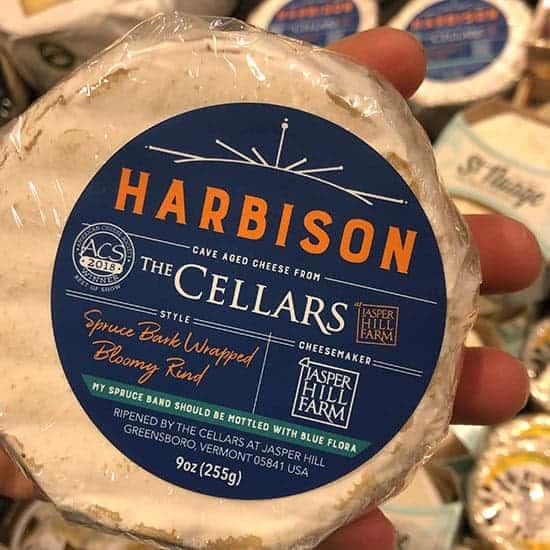 Harbison soft cheese